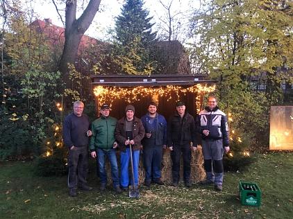 2019-11-30 W-Beleuchtung1©Ortsverein Essern (M.Barg)