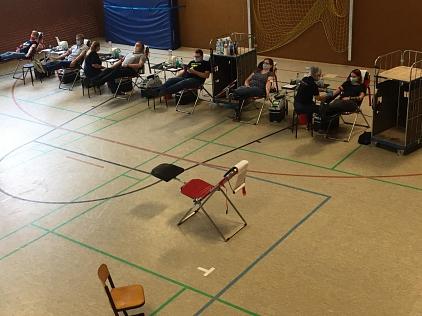 Blutspenden Juni 2020©Ortsverein Essern
